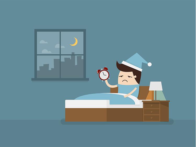 失眠(insomnia)病因谈
