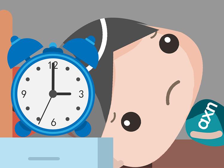 轻松几招,防治失眠